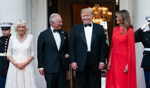 Принц Чарльз показав Трампу середній палець: фотофакт