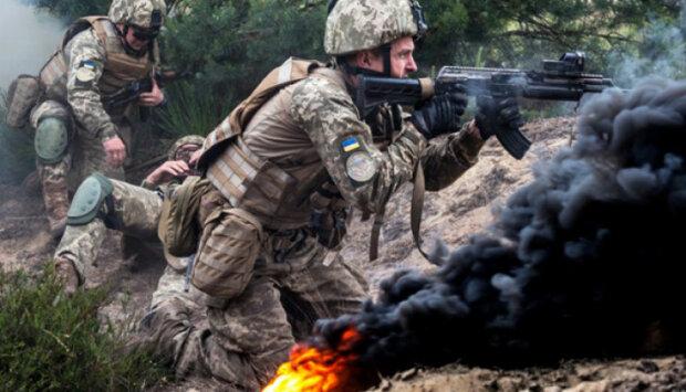 Война на Донбассе, фото: штаб ООС