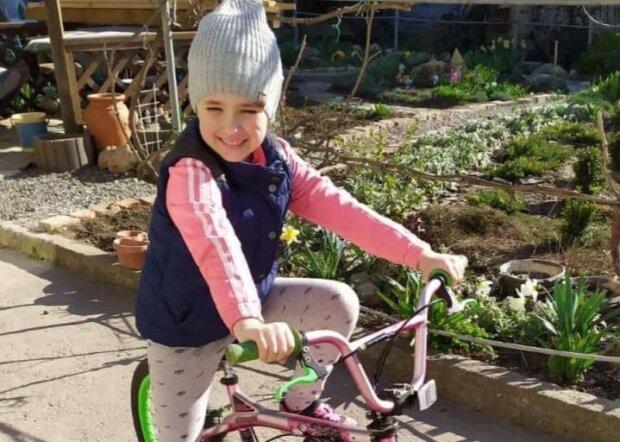 Велосипед від благодійного фонду / фото: Facebook