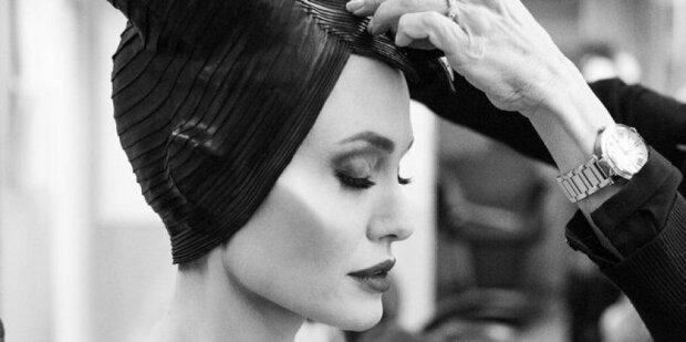 Disney показали, как превращают Анджелину Джоли в ведьму, такой вы звезду еще не видели