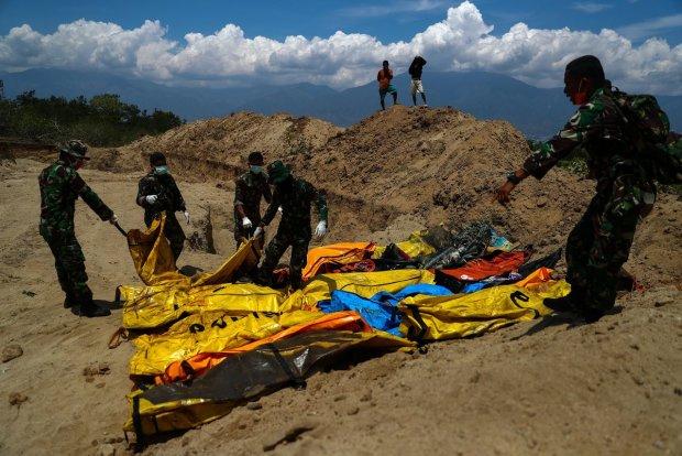 последствия катастрофы в Индонезии