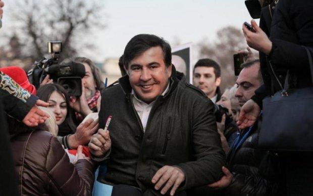 Полиция и провокации титушек: как Одесса встречала Саакашвили