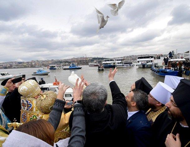 Церемония получения Украиной Томоса об автокефалии