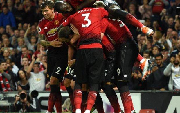 """Манчестер Юнайтед стартував прем'єр-лігу зі """"слизької"""" перемоги"""