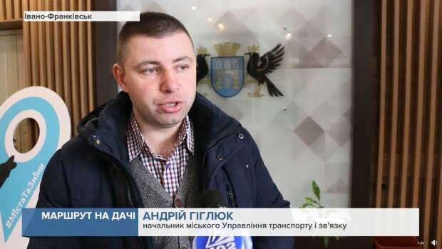Андрій Гіглюк, кадр з репортажу каналу 402: Facebook