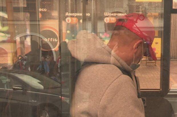Общественный транспорт, кадр из видео