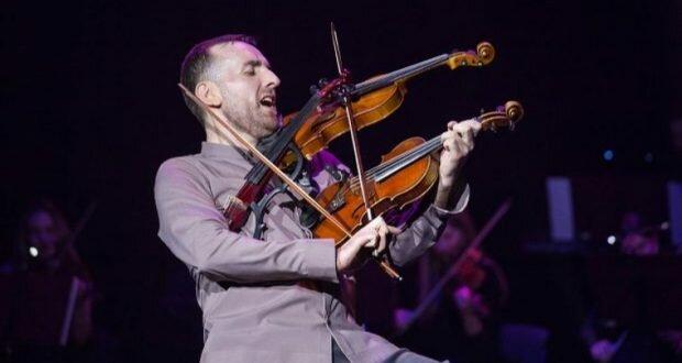 Невероятный тернополянин взял в руки три скрипки: зрители онемели от восторга