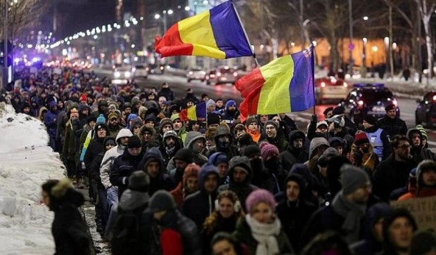 """Румынский """"Майдан"""" добился наказания для воров от власти"""