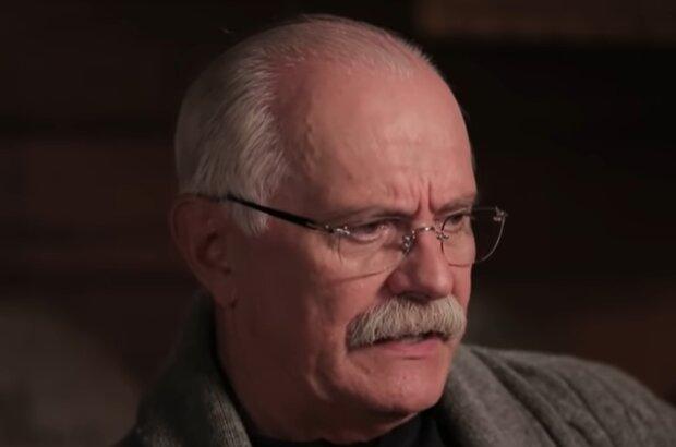 Никита Михалков, кадр из видео