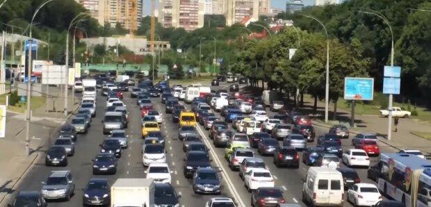 дороги Києва, скріншот з відео
