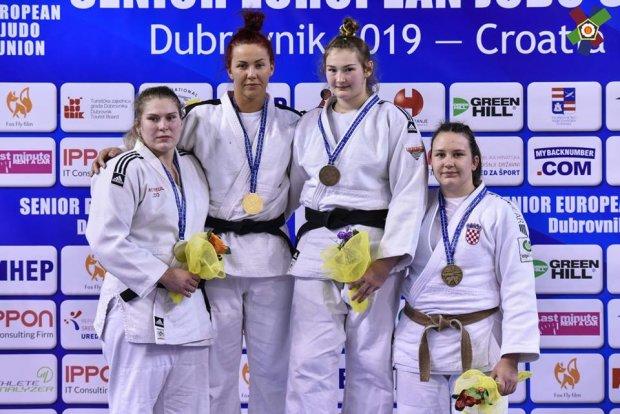 Українська збірна з дзюдо завоювала дев'ять медалей Кубка Європи в Хорватії