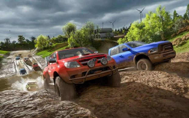 Forza Horizon 4: в сети опубликовали геймплей