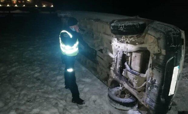 ДТП, фото: Facebook поліція Івано-Франківської області