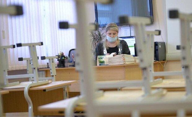 Карантин в школі, фото: odessamedia.net