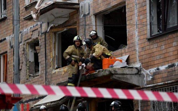 Опубликовано видео с места взрыва в Донецке