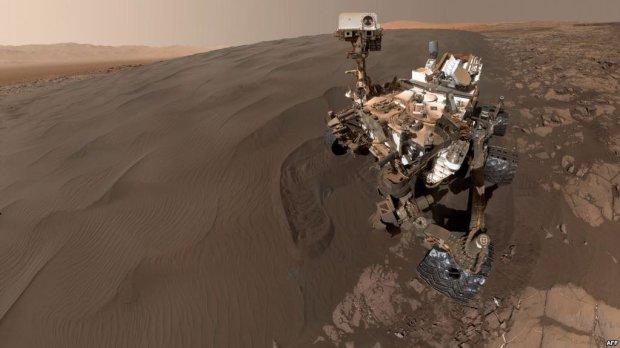 Марсохід NASA зробив перше в світі селфі на Червоній планеті