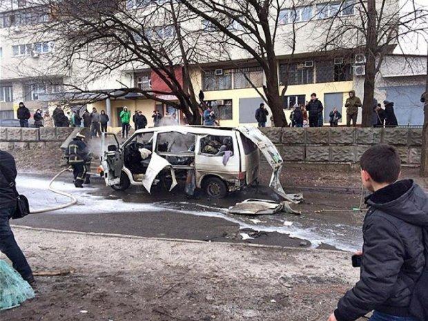 У Харкові підірвали авто комбата «Слобожанщини»