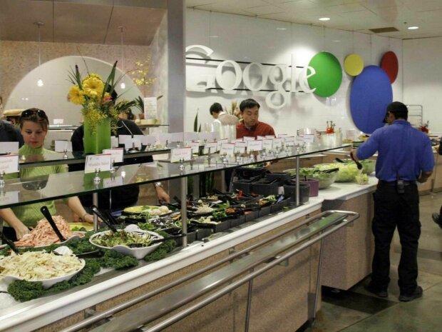 Google заставляет своих сотрудников есть меньше бесплатных обедов