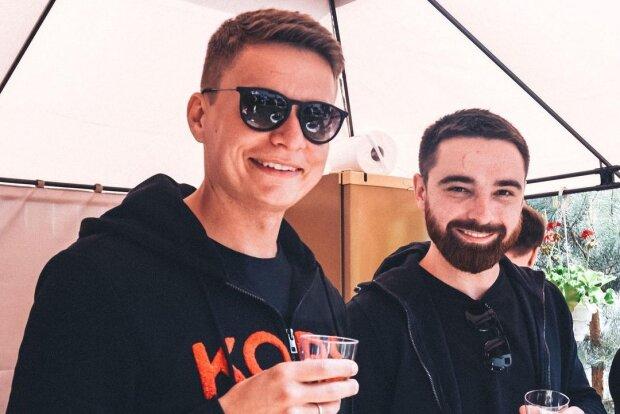 Олексій Тригубенко з другом, фото з Instagram