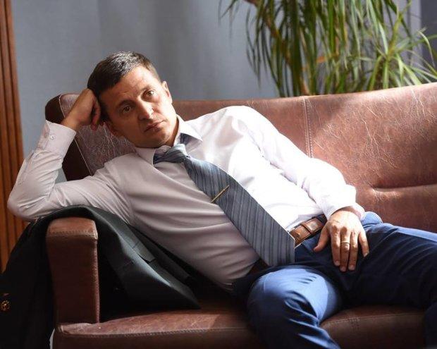 """Владимир Зеленский, кандидат в президенты Украины (""""Слуга народа"""")"""