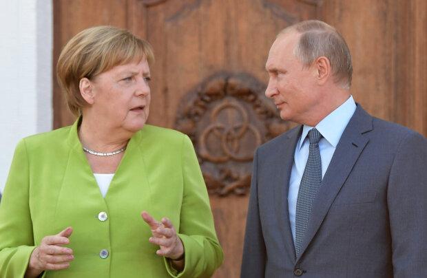 Меркель терміново зателефонувала Путіну після розмови із Зеленським: про що домовилися