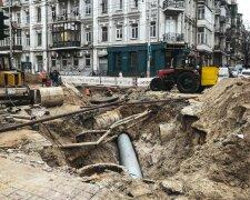 Ремонт трубопровода в Киеве, фото - Информатор