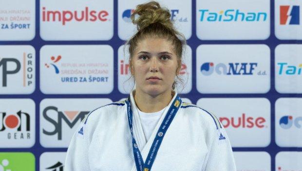 Украинская дзюдоистка Каланина впервые победила на турнире Большого шлема