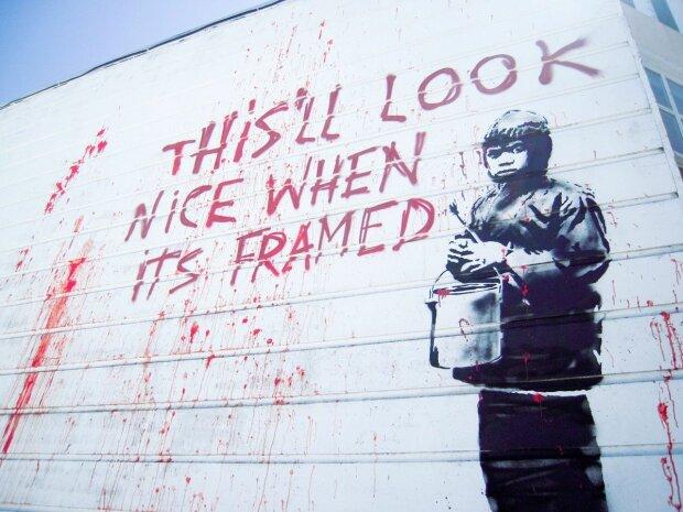 Личность таинственного художника Banksy раскрыли по новым фото: он выступал в Киеве