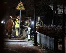 Падение самолета в Швеции, фото - thelocal