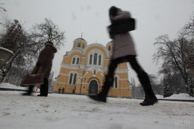 Погода 28 грудня: стихія приготувала киянам кашу з дощу і снігу