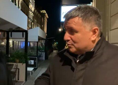 Арсен Аваков, скріншот із відео
