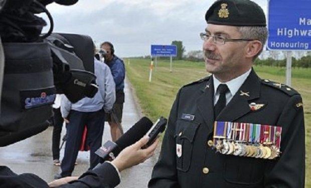 Українець очолить сухопутні війська Канади