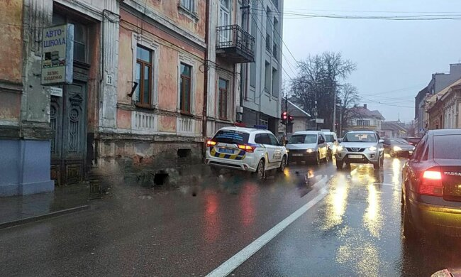 Авария в Ужгороде, фото: Карпатский обьектив