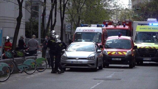 Место стрельбы / скриншот из видео