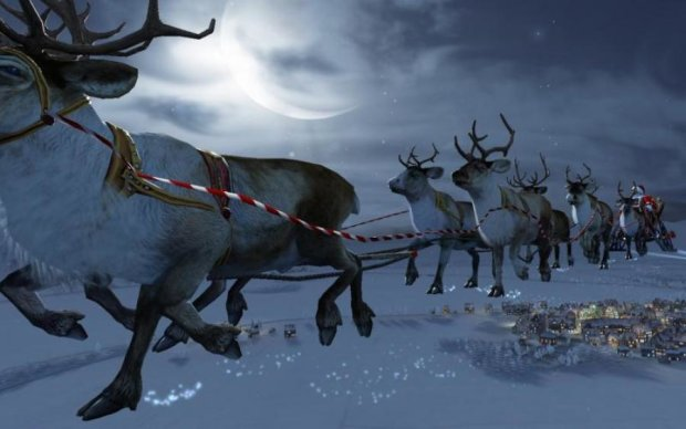 Терміново! Військові радари зафіксували упряжку Санта-Клауса