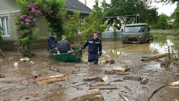 Потоп на Прикарпатті, фото Україна-24