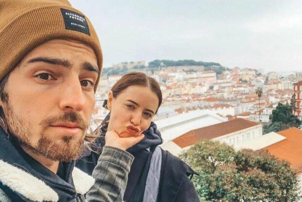 Владимир Дантес и Надя Дорофеева, скриншот: Instagram