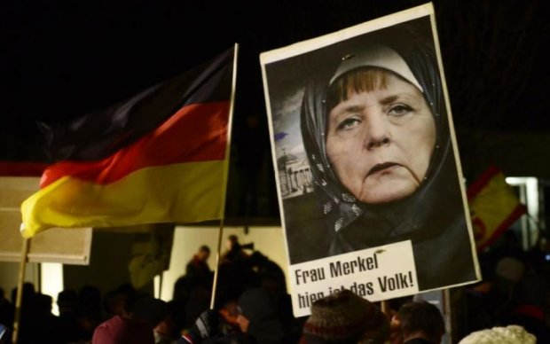 Украинцы разгромили немецких друзей Путина за Крым