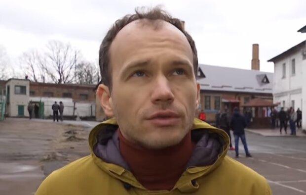 Денис Малюська, скріншот відео