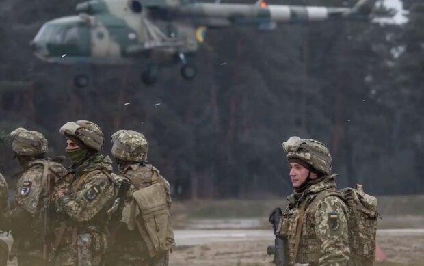 Бойцы ВСУ, кадр из видео