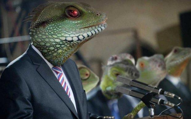 Рептилоид или демон? Телеведущая не на шутку напугала зрителей
