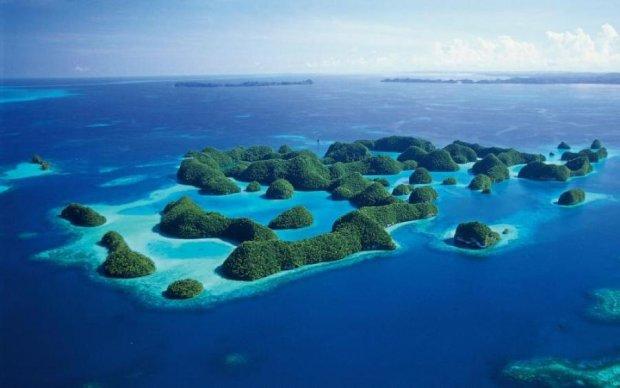 Кілька островів пішли під воду в Тихому океані