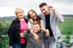 Ксенія Мішина з сім'єю, фото з Instagram