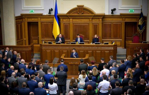 В Верховной раде, фото president.gov.ua