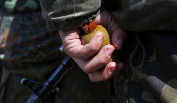 Воин АТО дома подорвался на гранате