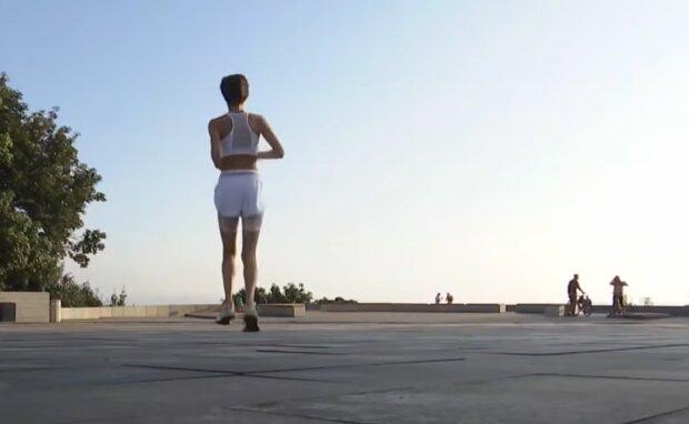 Летняя жара, кадр из видео