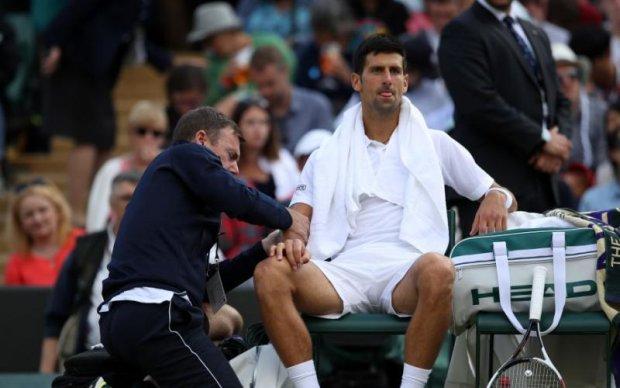 Відомий тенісист пропустить решту сезону через травму