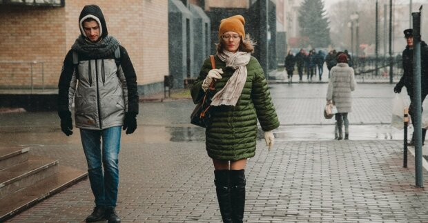 Дощ зі снігом: стихія влаштує вінничанам контрастний душ 21 листопада