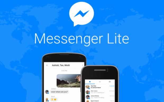 Facebook запустила полегшений Messenger Lite