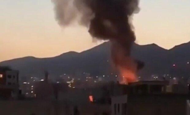 В клинике  Тегерана произошел взрыв , десятки погибших